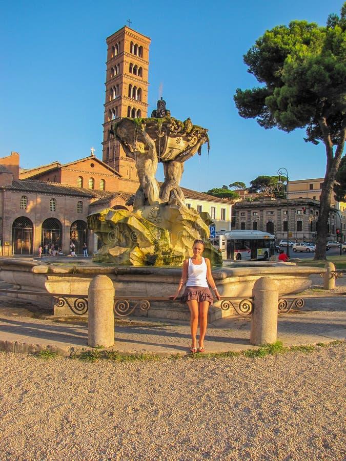 Romańscy wakacje obrazy royalty free