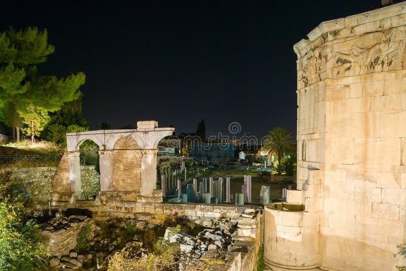 Romańska agora obrazy royalty free