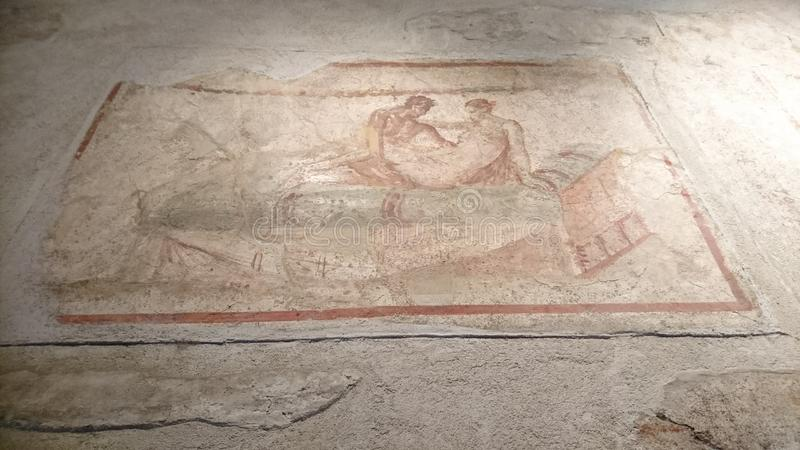 Romańska mozaika plciowa obrazy royalty free