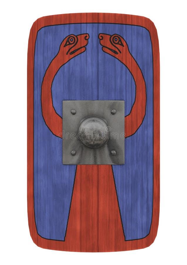 Romańska osłona royalty ilustracja
