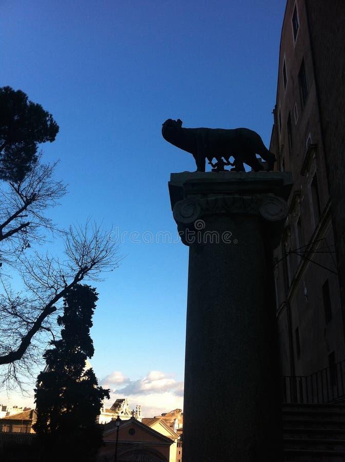 Download Romańska Wilcza Rzeźba W Rzym Obraz Stock - Obraz złożonej z etta, dziejowy: 57665625