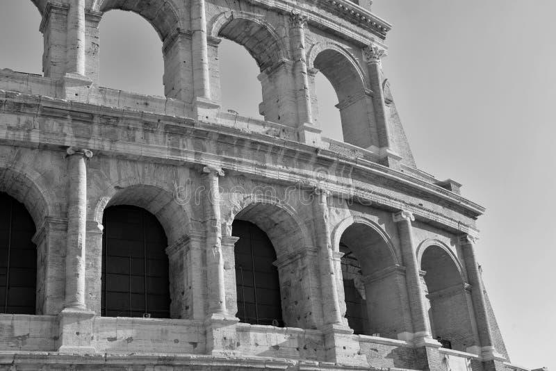 Romański Colosseum, miejsce dokąd gladiatorzy walczący as well as być miejscem wydarzenia dla jawnej rozrywki, Rzym obraz royalty free
