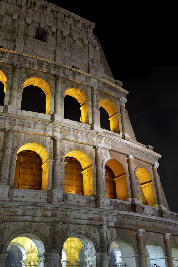 Romański Colosseum, miejsce dokąd gladiatorzy walczący as well as być miejscem wydarzenia dla jawnej rozrywki, Rzym zdjęcie royalty free