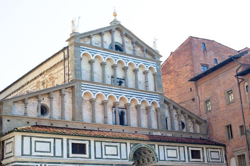 Romański kościół obrazy royalty free