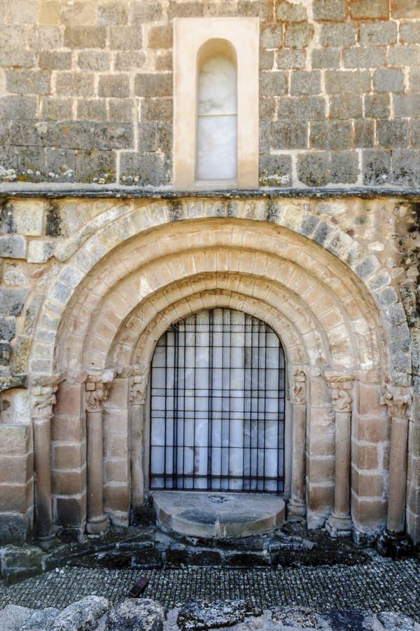 Romańszczyzny drzwi obraz stock