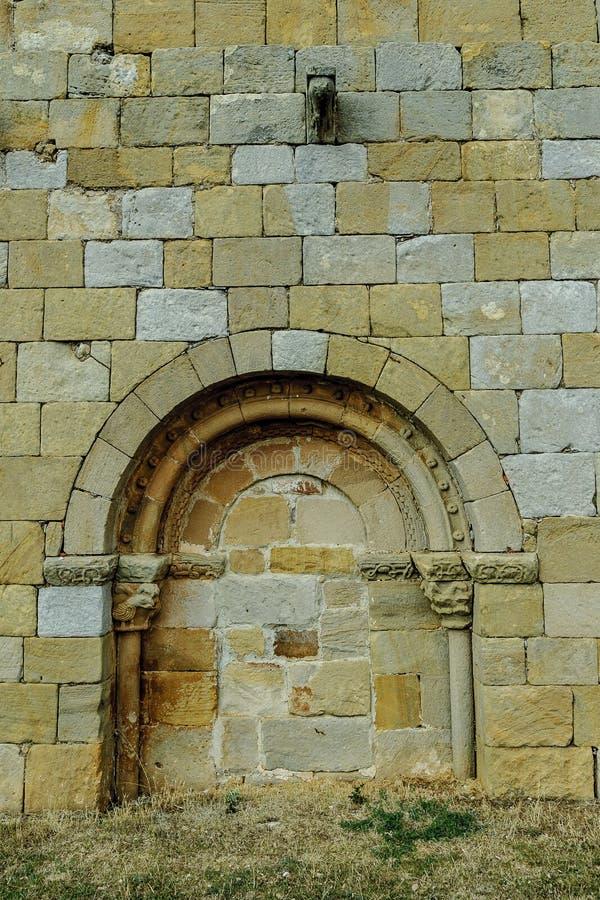 Romańszczyzny drzwi obraz royalty free