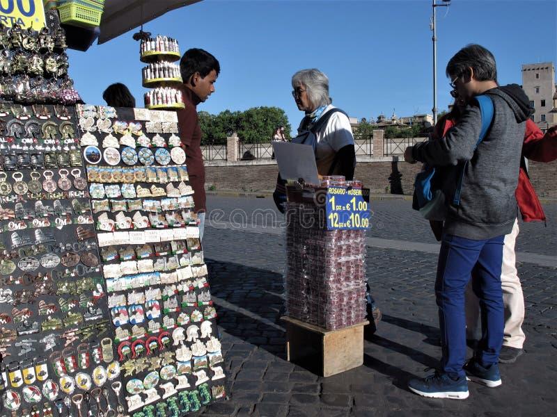 Roma, algunos recuerdos coloridos imagen de archivo