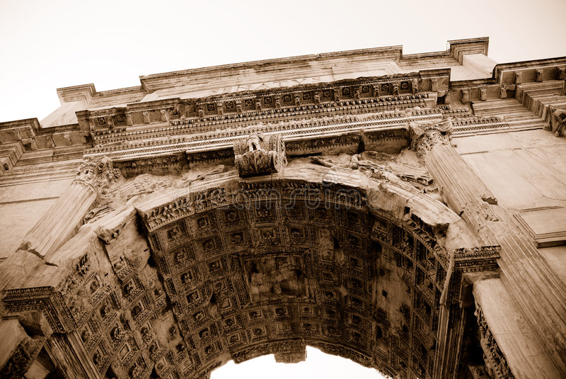 Roma antiga fotografia de stock royalty free