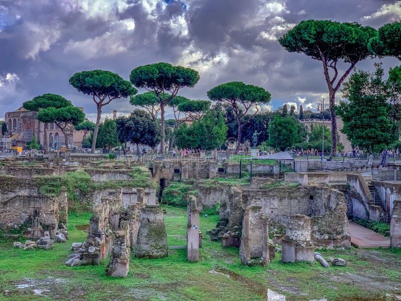 A Roma belamente encantador Itália fotos de stock royalty free