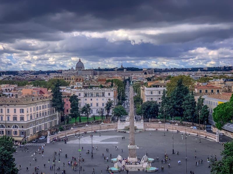A Roma belamente encantador Itália fotografia de stock royalty free