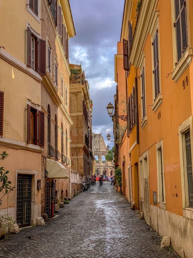 A Roma belamente encantador It?lia fotografia de stock royalty free