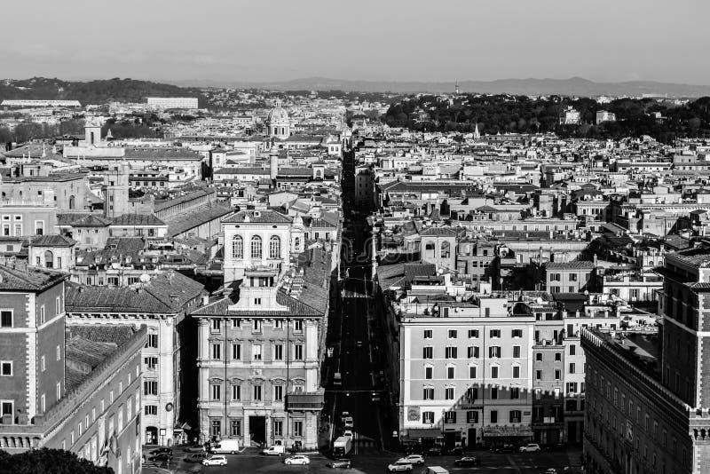 Roma in in bianco e nero immagine editoriale immagine for Roma in bianco e nero