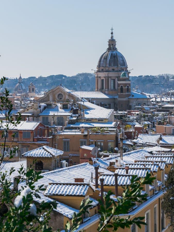 Roma blanca imagenes de archivo
