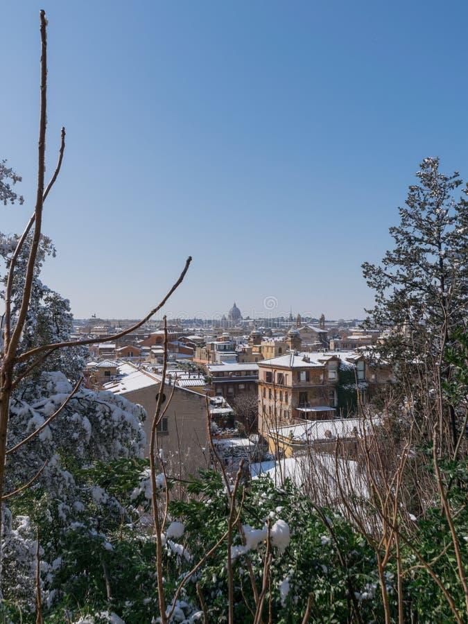 Roma blanca foto de archivo libre de regalías