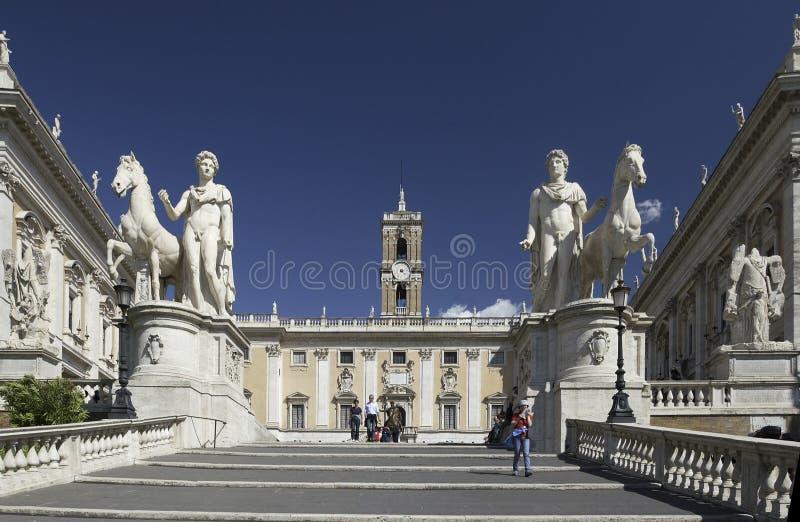 Roma - Campidoglio - l'Italia fotografie stock