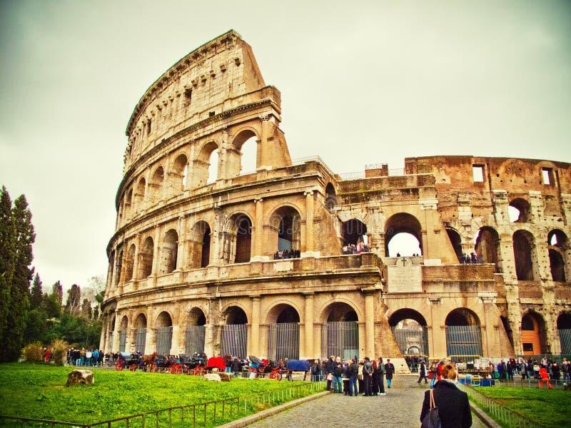 Roma Colloseum immagine stock