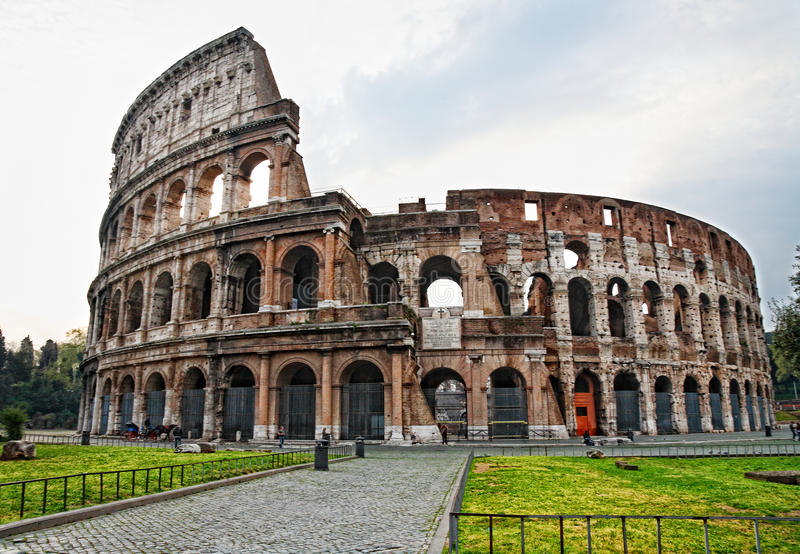 Roma - Coloseum photo stock