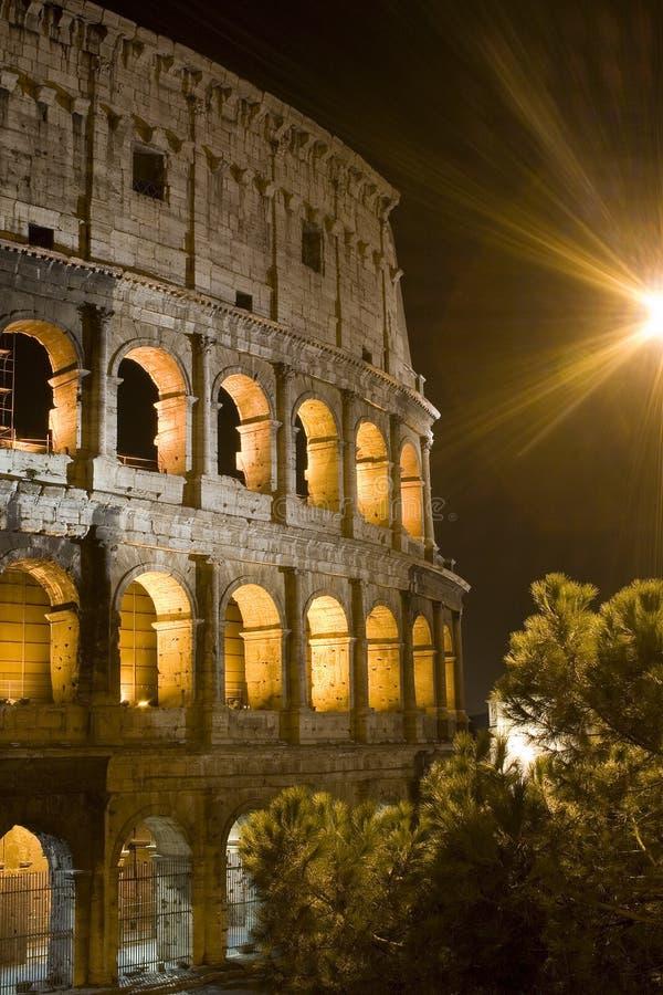 Roma - Colosseo (Particolare) imagem de stock