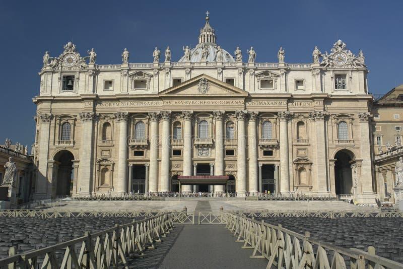 Roma, cupola della st Peters fotografia stock libera da diritti