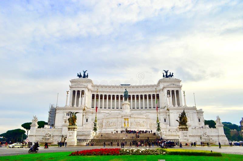 Roma, della Patria de Altare imagens de stock