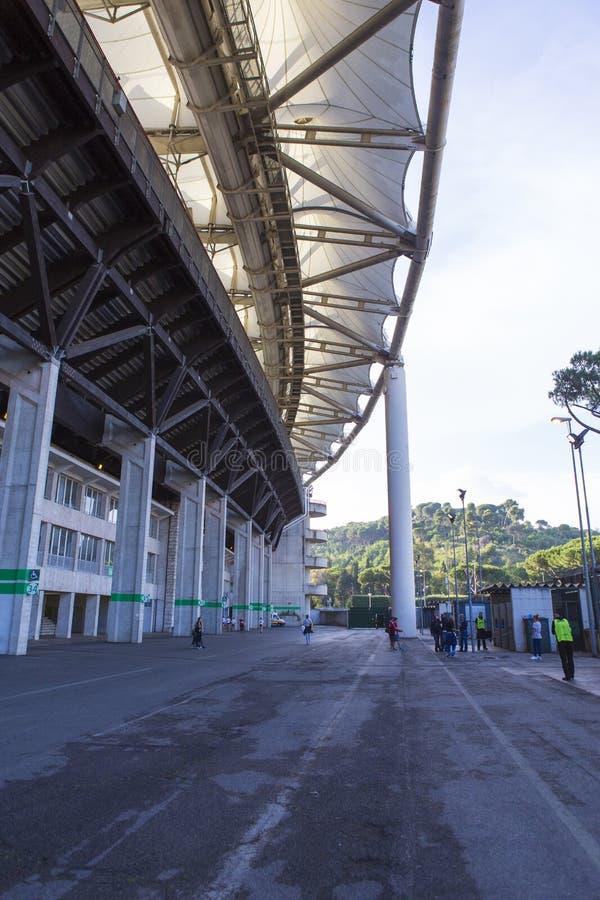 Roma el estadio Olímpico imagen de archivo libre de regalías