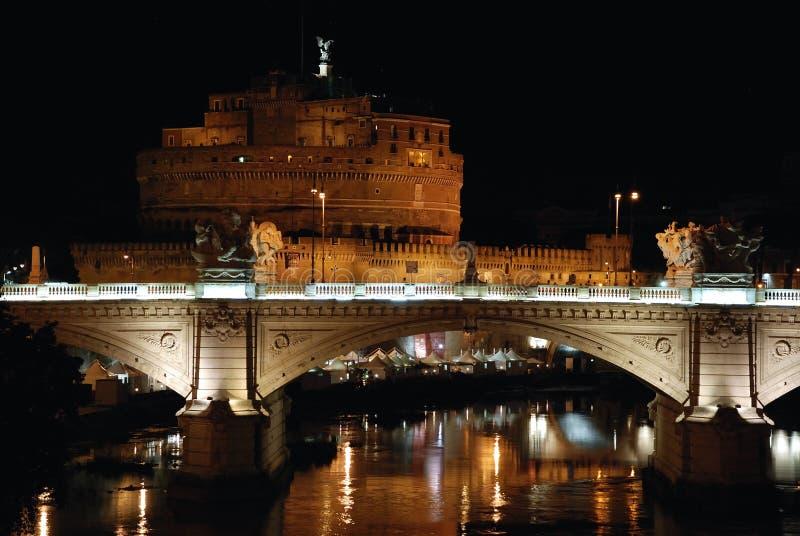 Roma em Noite imagem de stock