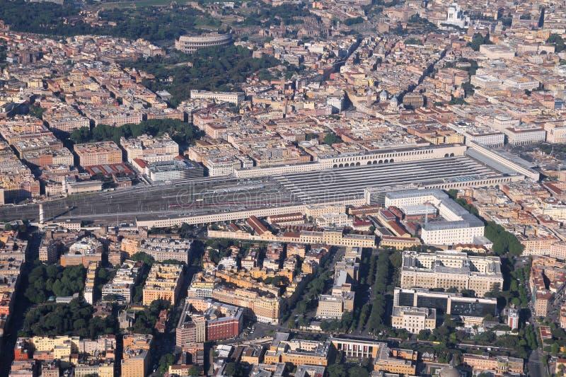 Roma, estação dos términos fotos de stock