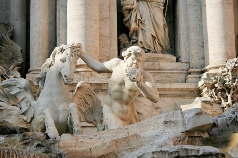 Roma - fuente del Trevi fotografía de archivo libre de regalías