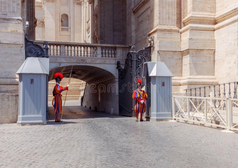 roma Guarda do Vaticano imagem de stock