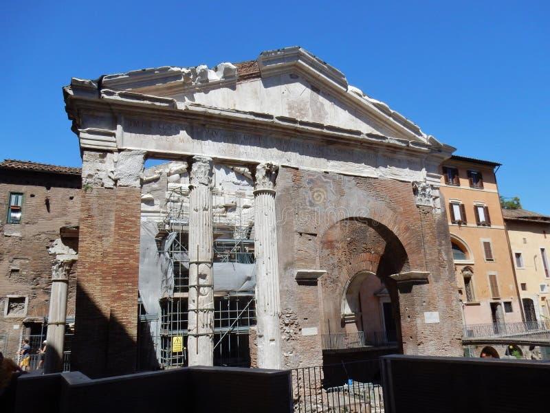 Roma - igreja do ` Angelo de Sant em Pescheria fotografia de stock