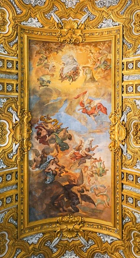 ROMA, ITÁLIA - 12 DE OUTUBRO DE 2017: ` Ambrogio e Carlo al Corso de Sant foto de stock royalty free