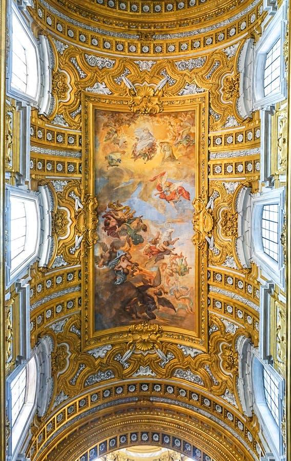 ROMA, ITÁLIA - 12 DE OUTUBRO DE 2017: ` Ambrogio e Carlo al Corso de Sant fotos de stock royalty free