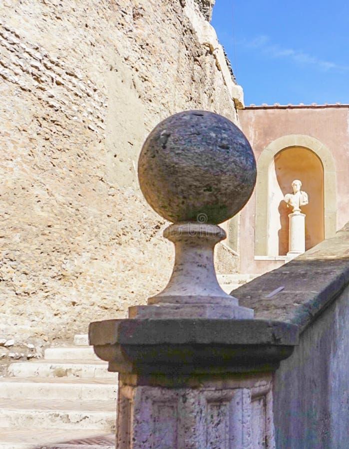 ROMA, ITALIA: 11 DE OCTUBRE DE 2017: Escalera en la C fotografía de archivo libre de regalías