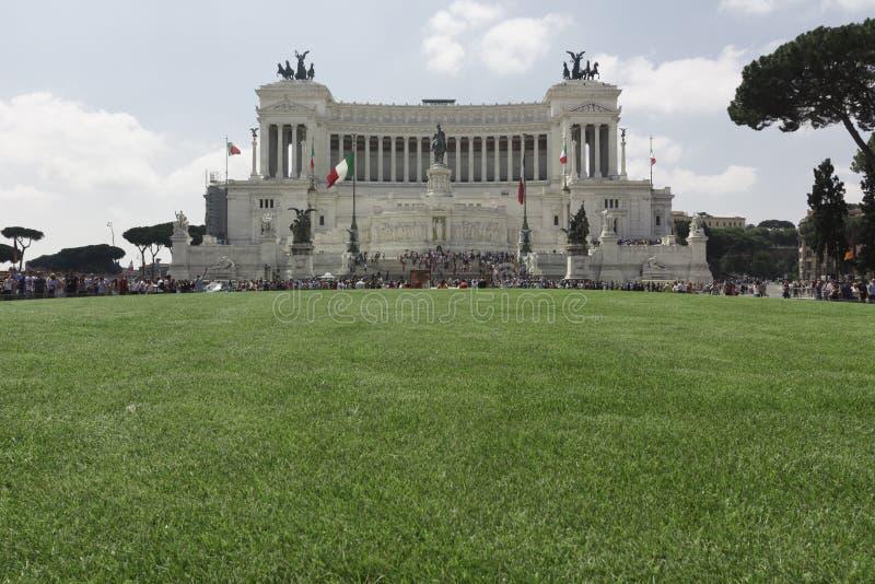 Roma, Italia - 2 giugno 2012: Vista frontale dell'altare del Fathe fotografia stock
