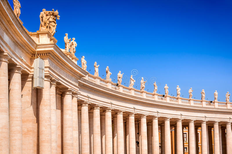 Roma, Italia - san Peter Basilica, Vaticano fotografia stock