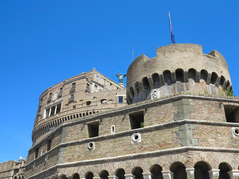 19 06 2017, Roma, Italie : Le château de l'ange saint, Hadrian M photos stock