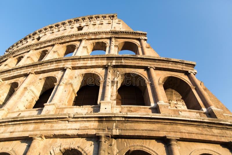 ROMA - 21 LUGLIO 2015: Grande Colosseum (Colosseo), Roma, Italia immagini stock libere da diritti
