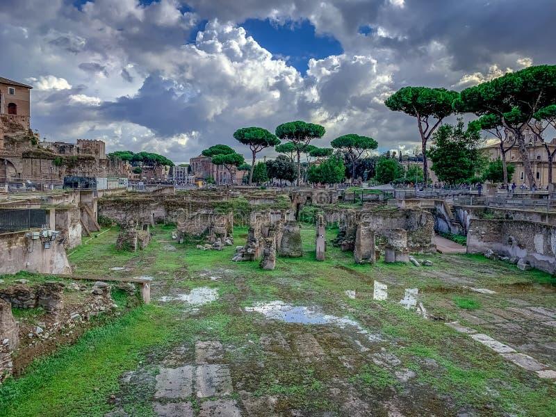 Roma meravigliosamente incantevole Italia fotografia stock