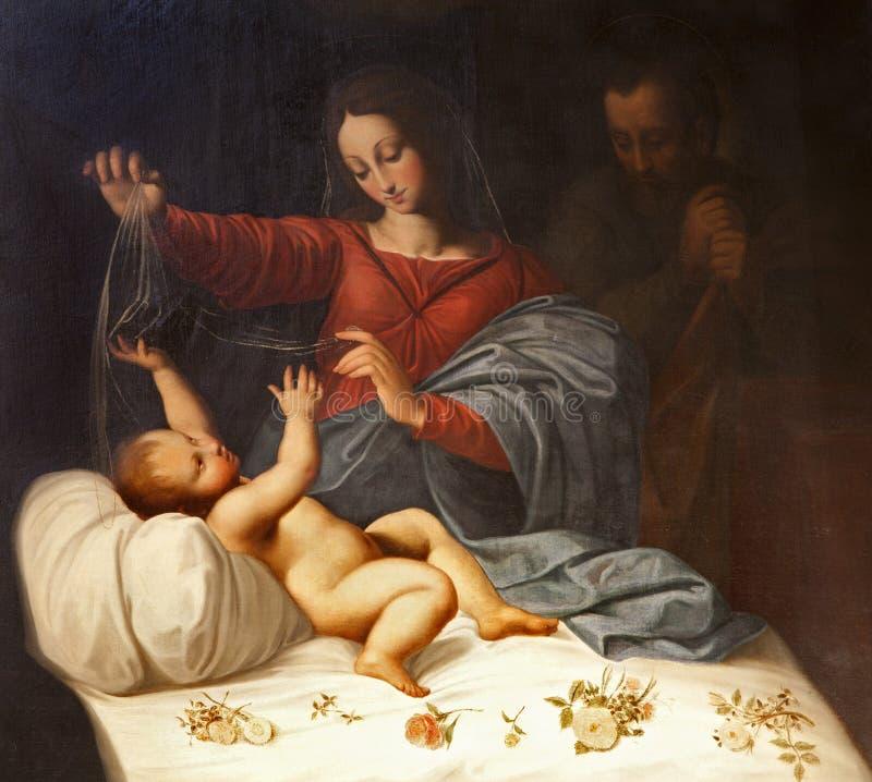 Roma - a natividade fotos de stock