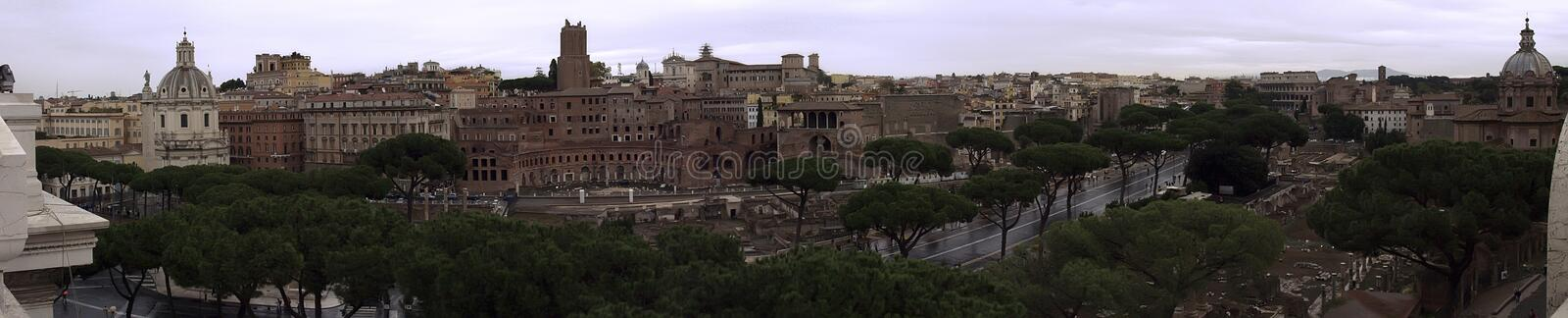 Roma, the old city royalty free stock image