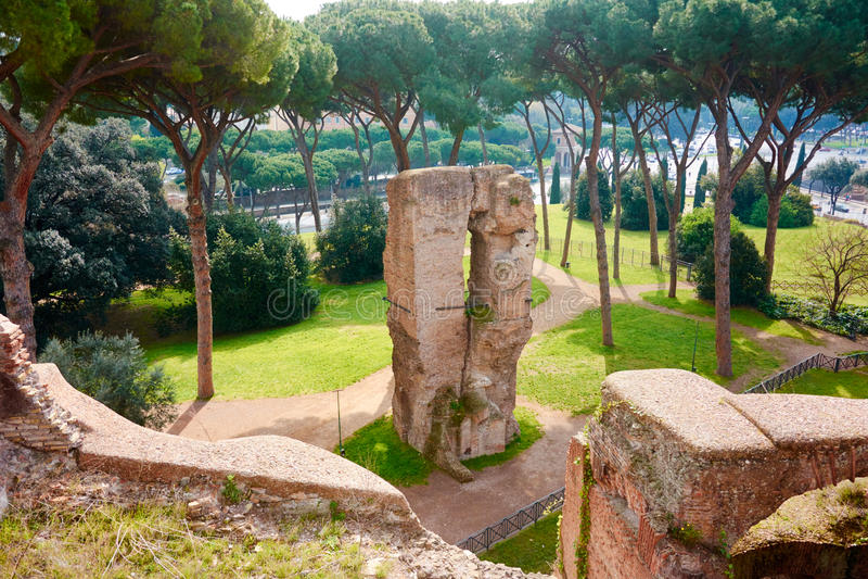 Roma Palatine fotos de archivo