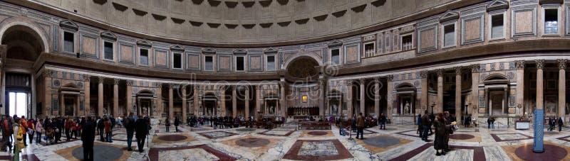 Roma, panteão fotos de stock royalty free