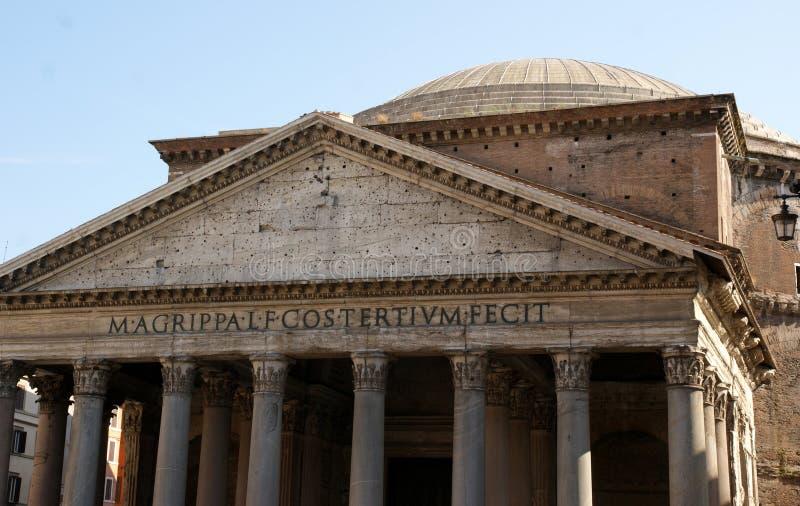 Roma Pantheon imagens de stock
