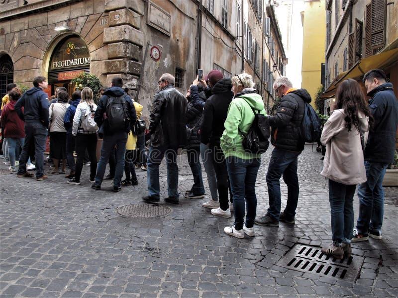 Roma, pessoa em seguido fotos de stock royalty free