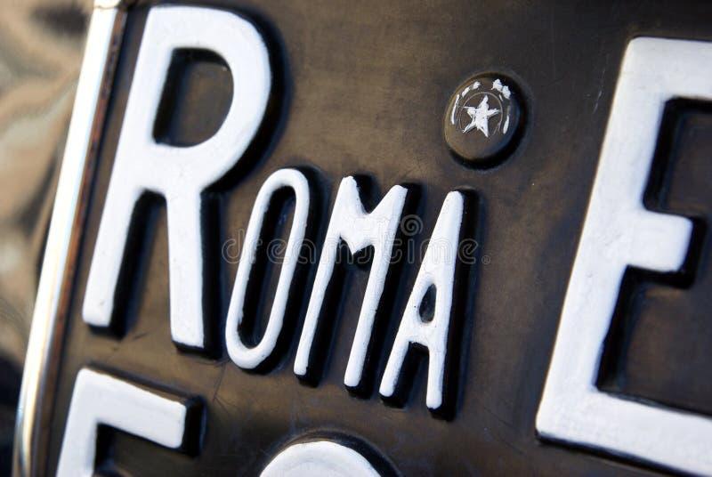 Roma plate stock photos