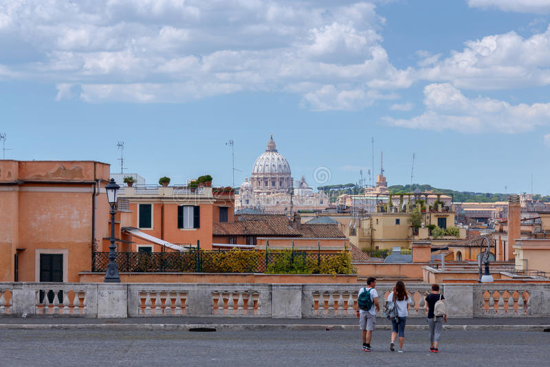 roma Quadrato di Quirinal immagine stock