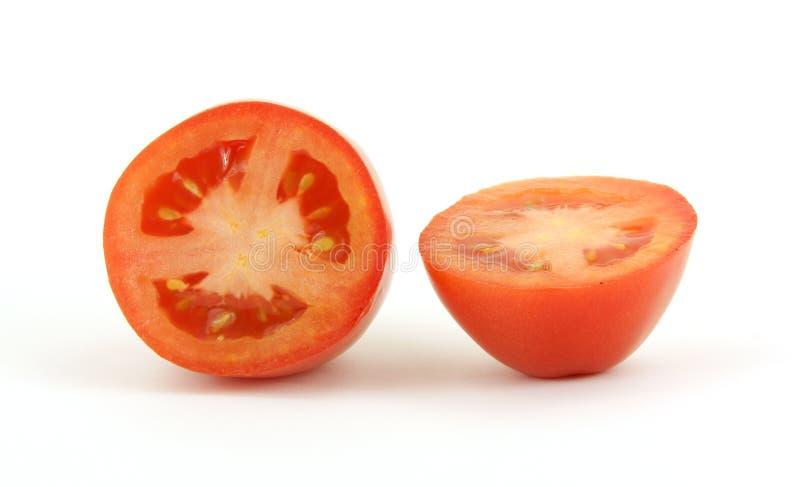 roma rżnięty pomidor fotografia stock