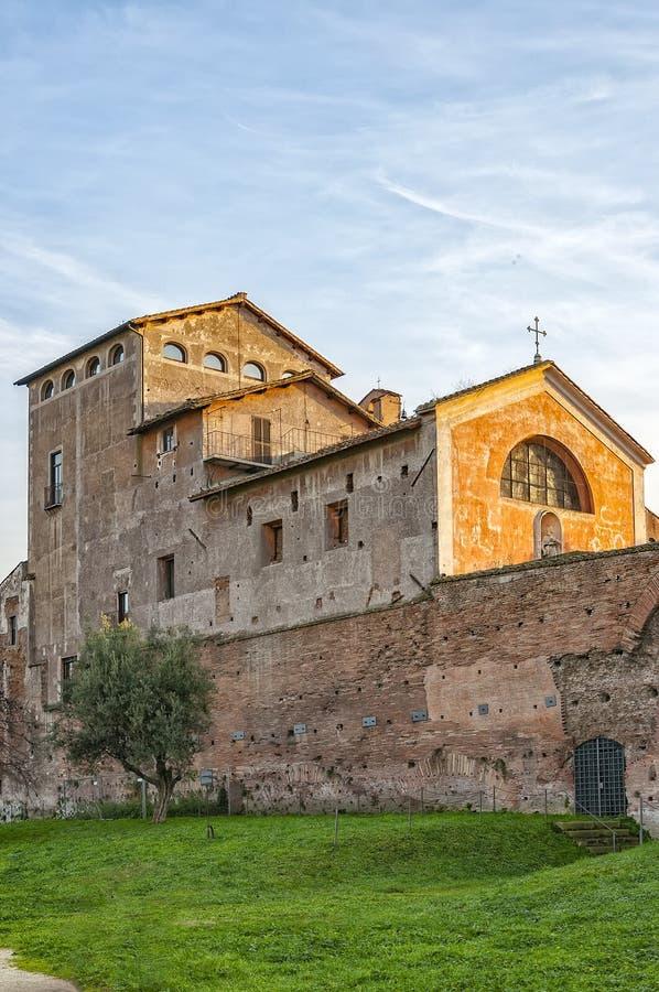 Roma San Bonaventura foto de archivo
