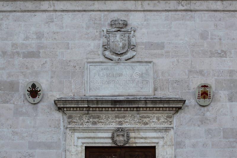 Roma, San Pietro em Montorio, igreja românico no monte de Janiculum imagem de stock