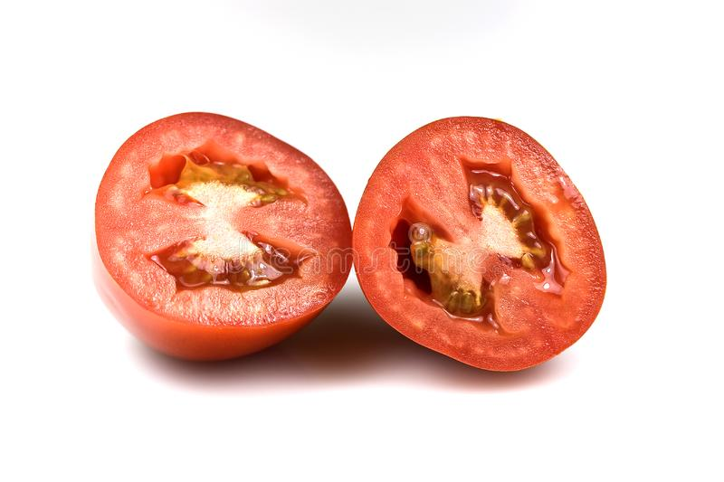 Roma tomatoes royalty free stock image